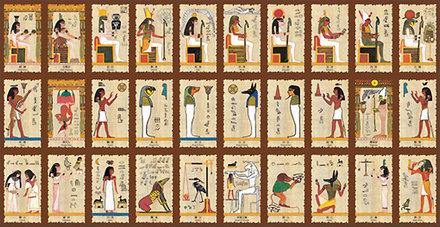 古埃及人用来占卜的塔罗牌