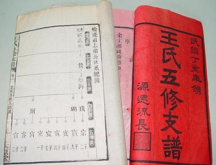 中国历史上的几次人口大迁徙 陈氏族谱 第1张