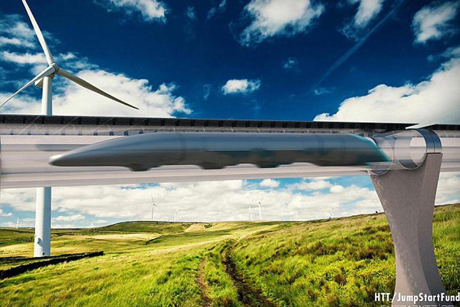 超环列车:比飞机更快?