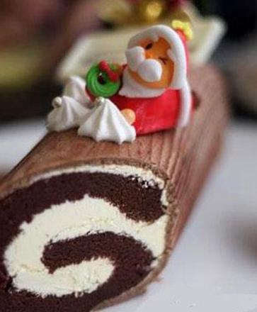 树桩蛋糕卷