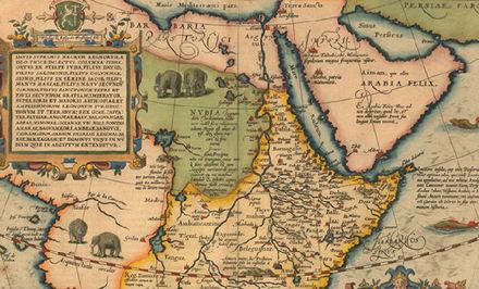 """""""在非洲地图上,地理学家们用野生动物填补空白"""