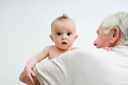从婴儿到老人的简笔画