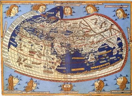 为什么地图都是上北下南 - chum818 - 你们是世界上的盐和光