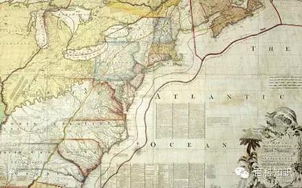 他们用彩色线条对地图做了标注
