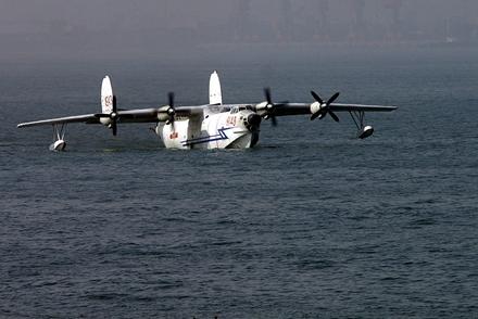 还有一种是水陆两栖飞机