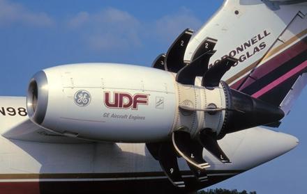 美国通用电气公司曾在一架飞机上