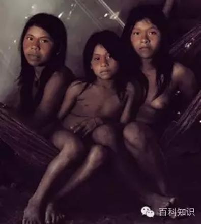 华欧拉尼人住在厄瓜多尔的亚马孙流域中,过着与世隔绝的生高清图片