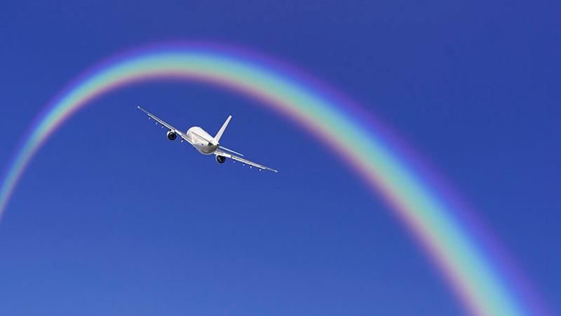 飞机是怎么转弯的?的头图